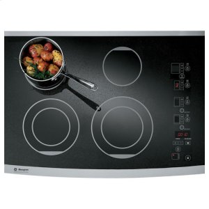 "MonogramMONOGRAMGE Monogram® 30"" Digital Electric Cooktop"