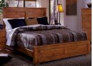 4/6-5/0 Full/Queen Headboard - Cinnamon Pine Finish Product Image