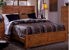 4/6-5/0 Full/Queen Footboard - Cinnamon Pine Finish