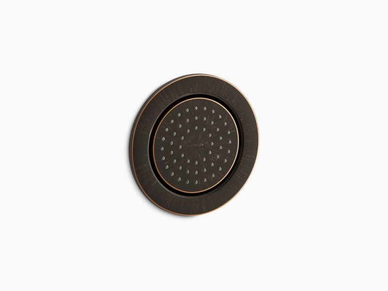 Oil Rubbed Bronze Round 54 Nozzle Body Spray With Soothing