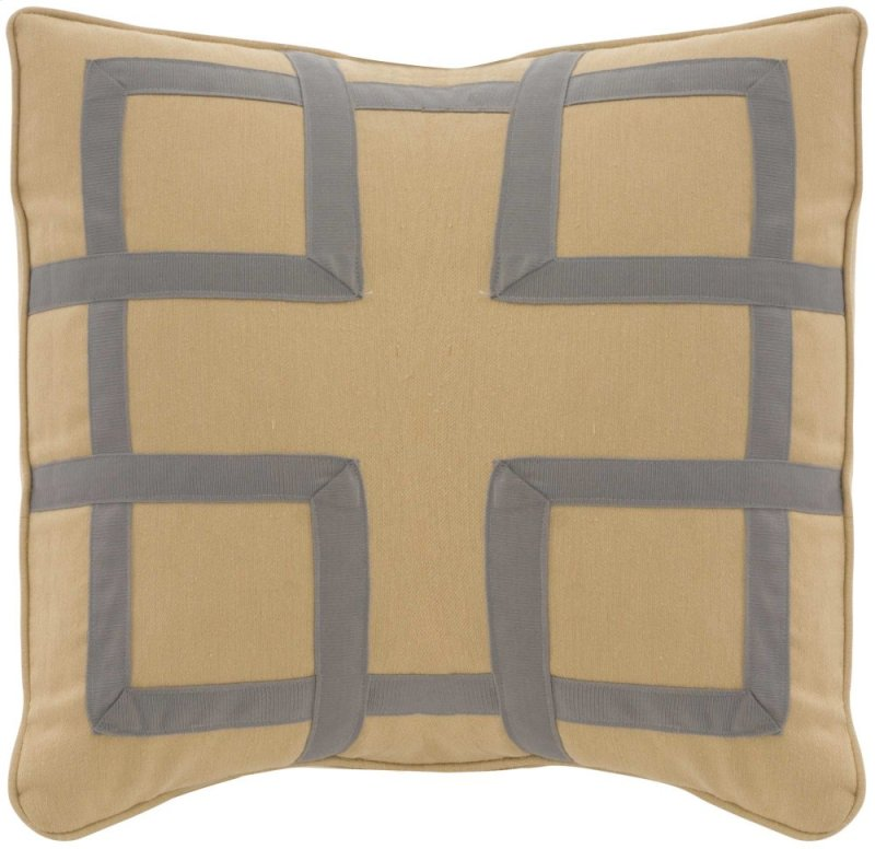 Bernhardt Custom Decorative Pillows Fretwork 40 X 40 In In Beauteous Fretwork Decorative Pillow