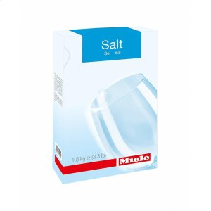 GS SA 1502 P Dishwasher salt, 6 x 1.65 lb for optimum function and performance of a Miele dishwasher. -