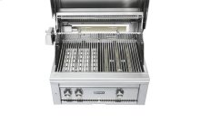 "30"" Grill - 1 Trident w/ Rotisserie on Mobile Kitchen Cart NG"