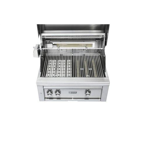 """27"""" Lynx Professional Freestanding Grill with 1 Trident and 1 Ceramic Burner and Rotisserie, NG"""