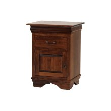 Left Hand Hinge Night Stand