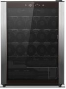 Wine Chiller, black case with full stainless door trim, 23-bottle capacity Product Image