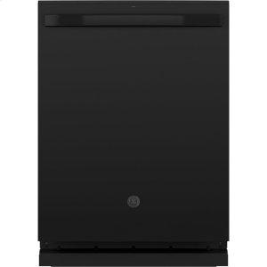 ®Stainless Steel Interior Dishwasher with Hidden Controls - BLACK