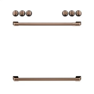 GEFront Control Electric Knobs and Handles - Brushed Copper