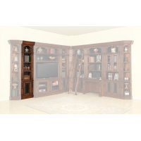 Leonardo 22 in. Open Top Bookcase Product Image