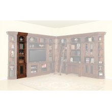 Leonardo 22 in. Open Top Bookcase
