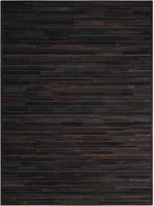 Prairie Pra1 Blk Rectangle Rug 5'6'' X 7'5''