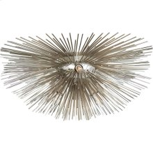 Visual Comfort KW4065PN Kelly Wearstler Strada 6 Light 19 inch Polished Nickel Flush Mount Ceiling Light, Small