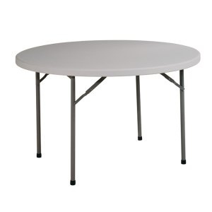 "Office Star48"" Round Resin Multi Purpose Table"
