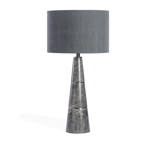 Dex Lamp - Grey/ Nickel
