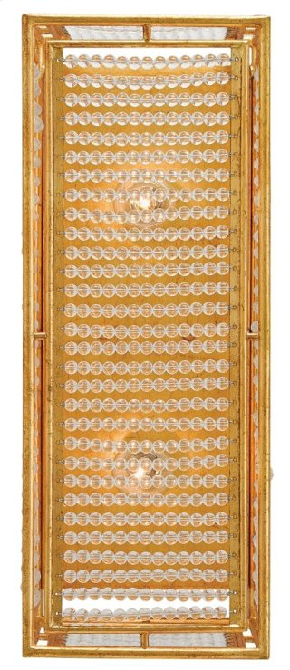 Adelle Wall Sconce - 19.25h x 7.5w x 6.5d