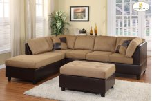 Reversible 3-Seater, Left/Right Unit
