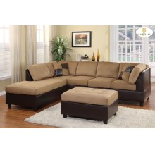 Reversible Chaise, Left/Right Unit