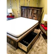 Custom Reclaimed Slide-out Rifle Bed