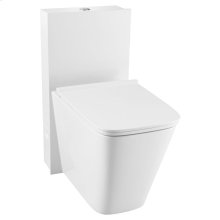 DXV Modulus Monolith Elongated One-Piece Toilet - Canvas White