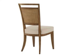 Upholstered Back Side Chair - Kd