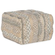 Living Room Mincey Square Ottoman