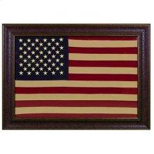 "Large : 43"" x 21"" American Flag"