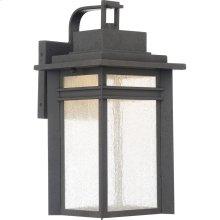 Beacon Outdoor Lantern in Stone Black