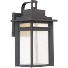 Beacon Outdoor Lantern in Stone Black