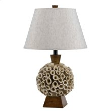 150W Coral Resin Table Lamp