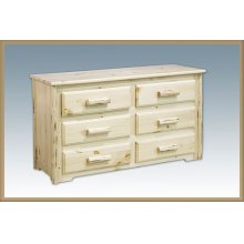Montana Log 6 Drawer Dresser
