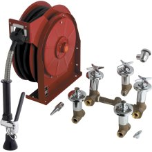 Hose Reel Assembly with Fitting