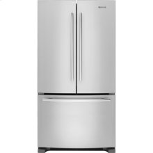 "69"" Counter-Depth, French Door Refrigerator with Internal Water/Ice Dispensers, Euro-Style Stainless Handle"