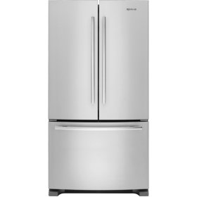 "69"" Counter-Depth, French Door Refrigerator with Internal Water/Ice Dispensers, Euro-Style Stainless"