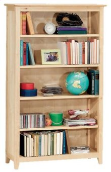 Woodland Natural Bookcase