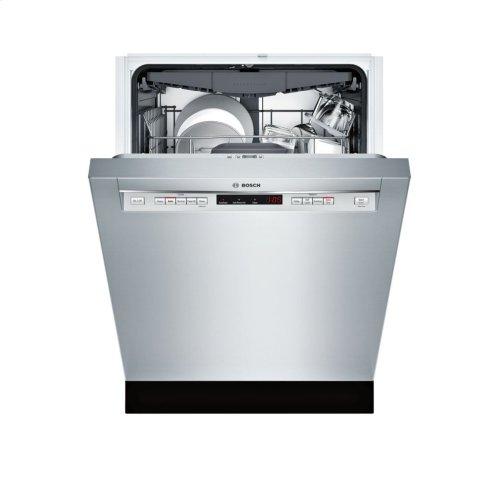 300 Series built-under dishwasher 24'' Stainless steel SHE863WF5N