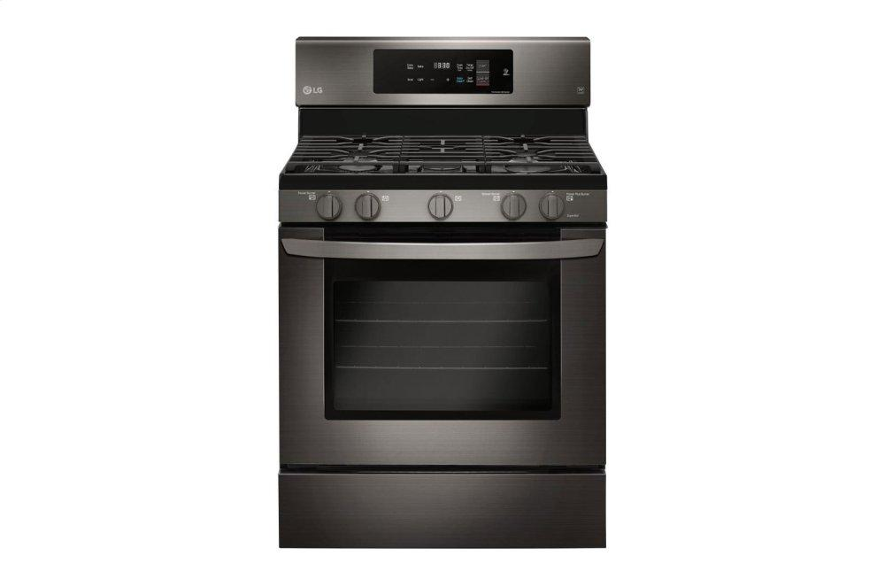 LG Appliances5.4 Cu. Ft. Gas Single Oven Range With Fan Convection And Easyclean®