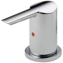 Chrome Metal Lever Handle Set - Roman Tub