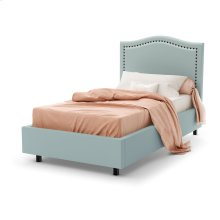 Elegance Upholstered Bed - Twin