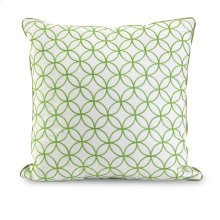 Essentials Green Embroidered Pillow