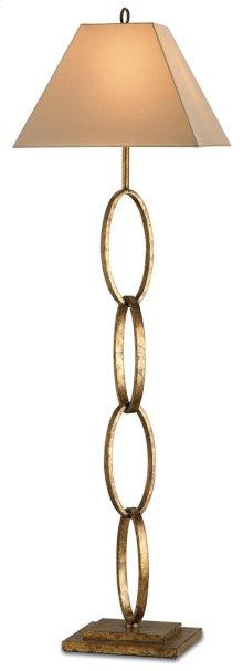 Bangle Gold Floor Lamp