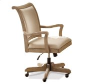 Coventry Desk Chair Weathered Driftwood finish Product Image