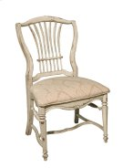 Wheat Side Chair with Upholstered Seat Product Image