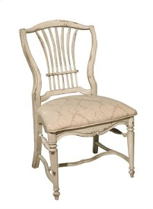 Wheat Side Chair with Upholstered Seat