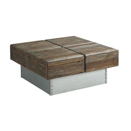 Block Cocktail Table