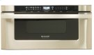 Sharp Microwave Drawer Oven, 30 in. 1.2 cu. ft. 1000W Stainless Steel Product Image