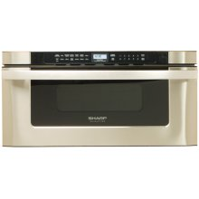 Sharp Microwave Drawer Oven, 30 in. 1.2 cu. ft. 1000W Stainless Steel