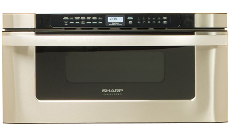 Sharp Microwave Drawer Oven 30 In 1 2 Cu Ft 1000w Stainless Steel Hidden