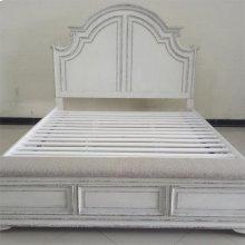 Queen Panel Storage Bed, Dresser & Mirror, Chest