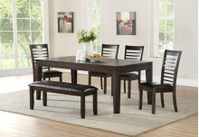 "Ally Bench, Antique Charcoal 48""x15""x19"""