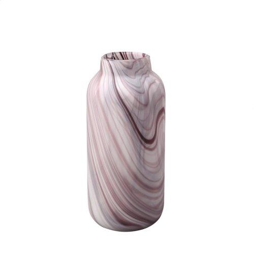 Swirl Vase Purple